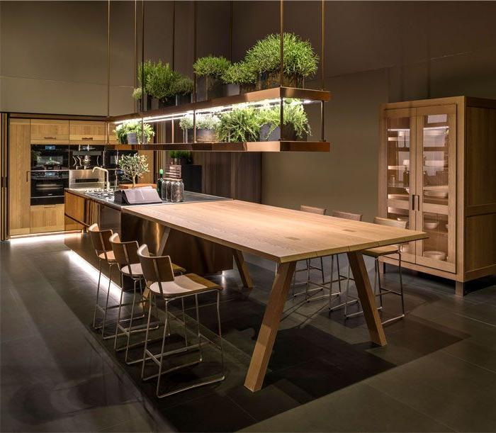modern kitchen colors 2019 Kitchen Design Trends 2018 / 2019 – Colors, Materials & Ideas  611 X 700